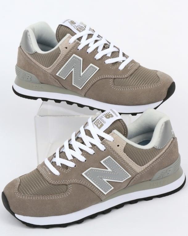 New Balance 574 Trainers Grey/Grey
