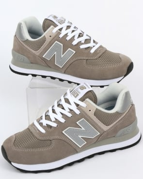 New Balance 574 Trainers Grey/Grey