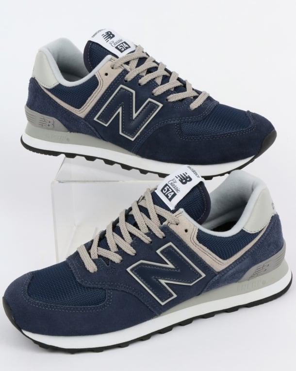 New Balance 574 Trainers Navy/Grey