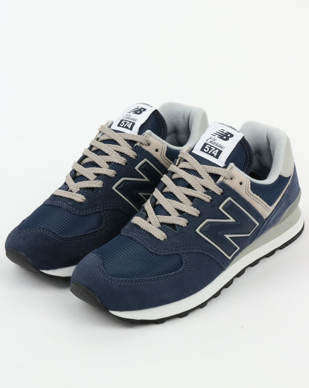 New Balance 574 Trainers Navy Grey c88cb6007078