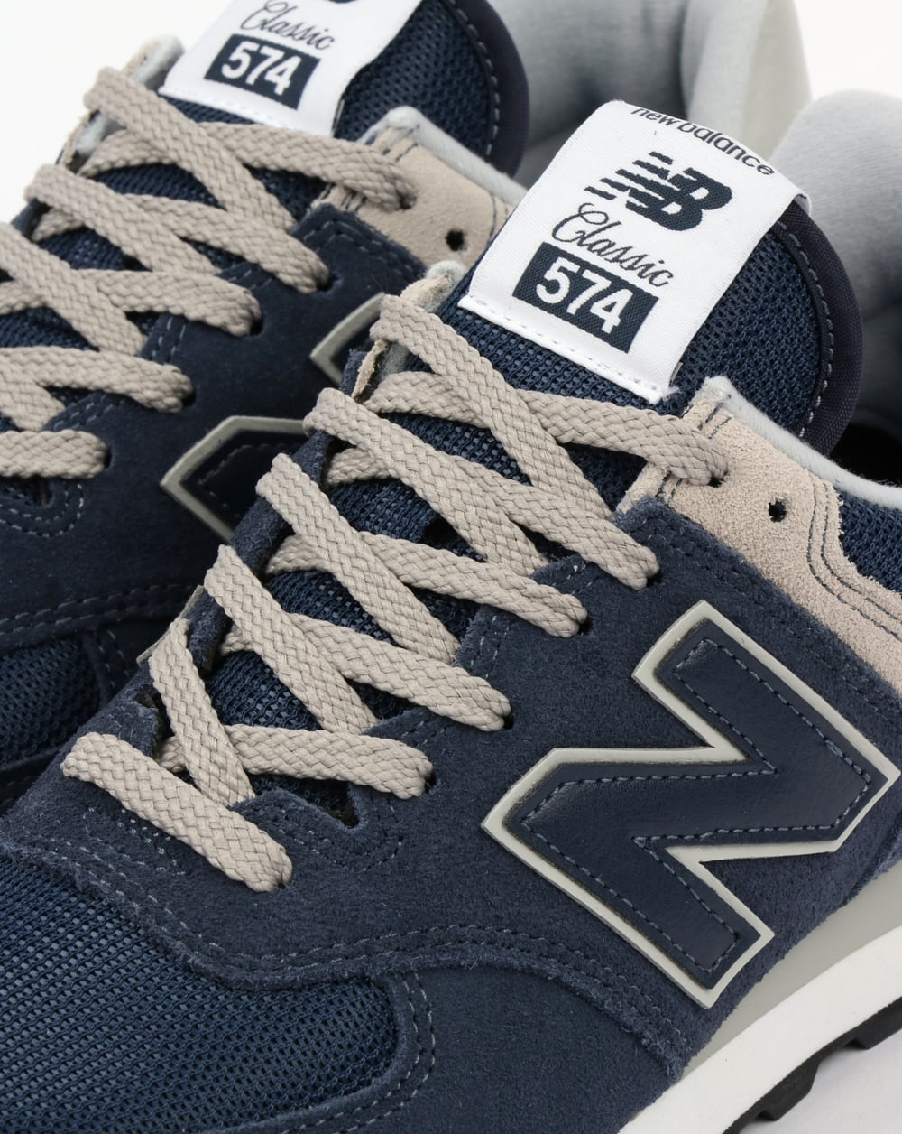 info for 8e4f2 cab6b New Balance 574 Trainers Navy/Grey