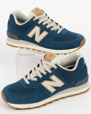 New Balance 574 Trainers North Sea/Moonbeam