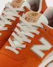 New Balance 574 Trainers Orange/Moonbeam