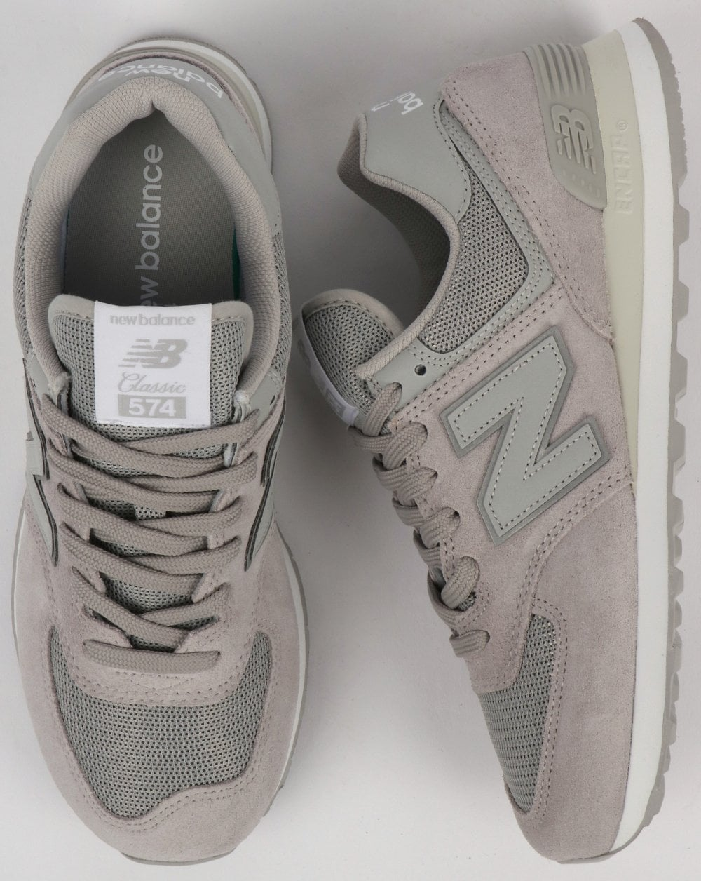 new balance 574 80s – burgundy / grey