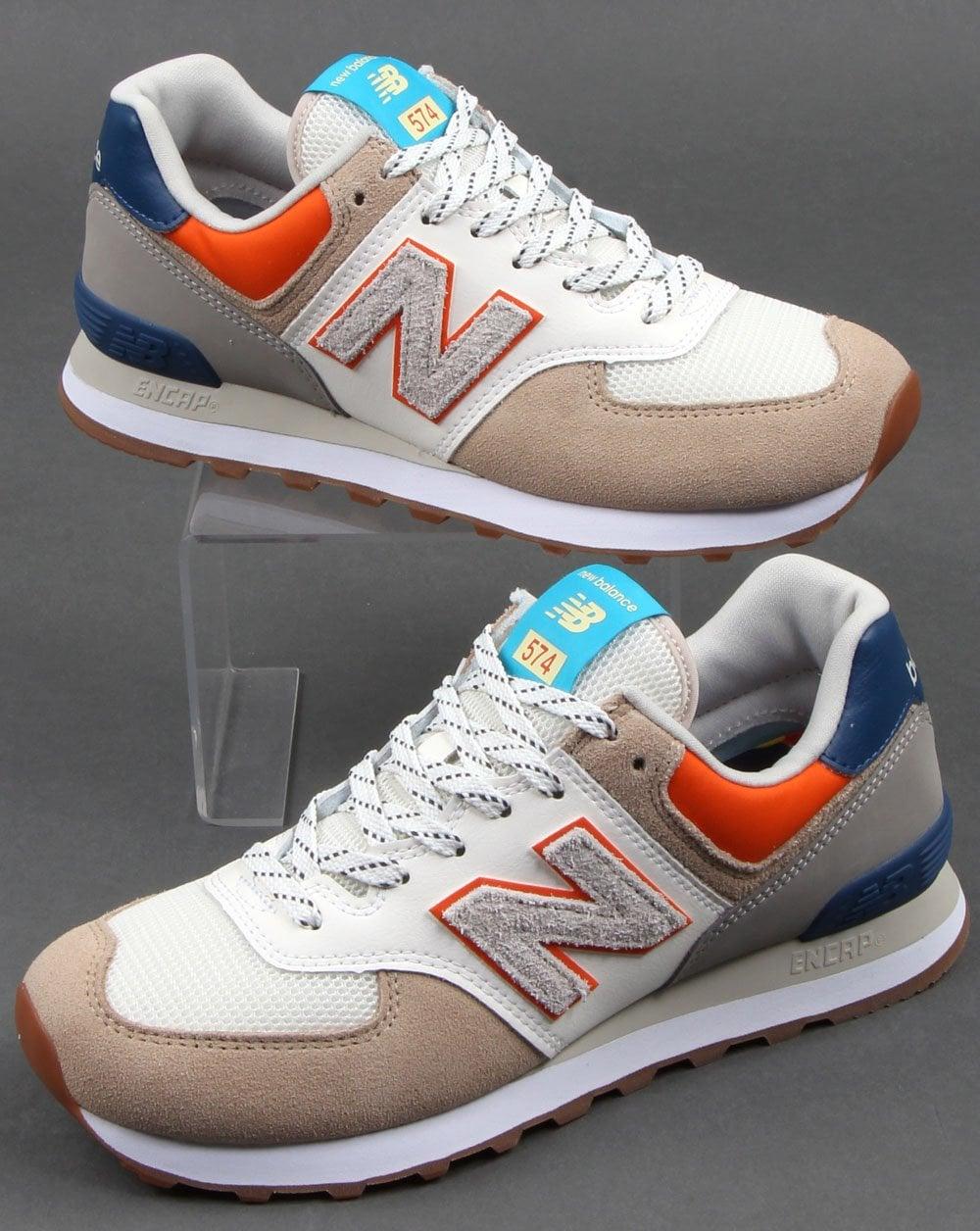 New Balance 574 Trainers White