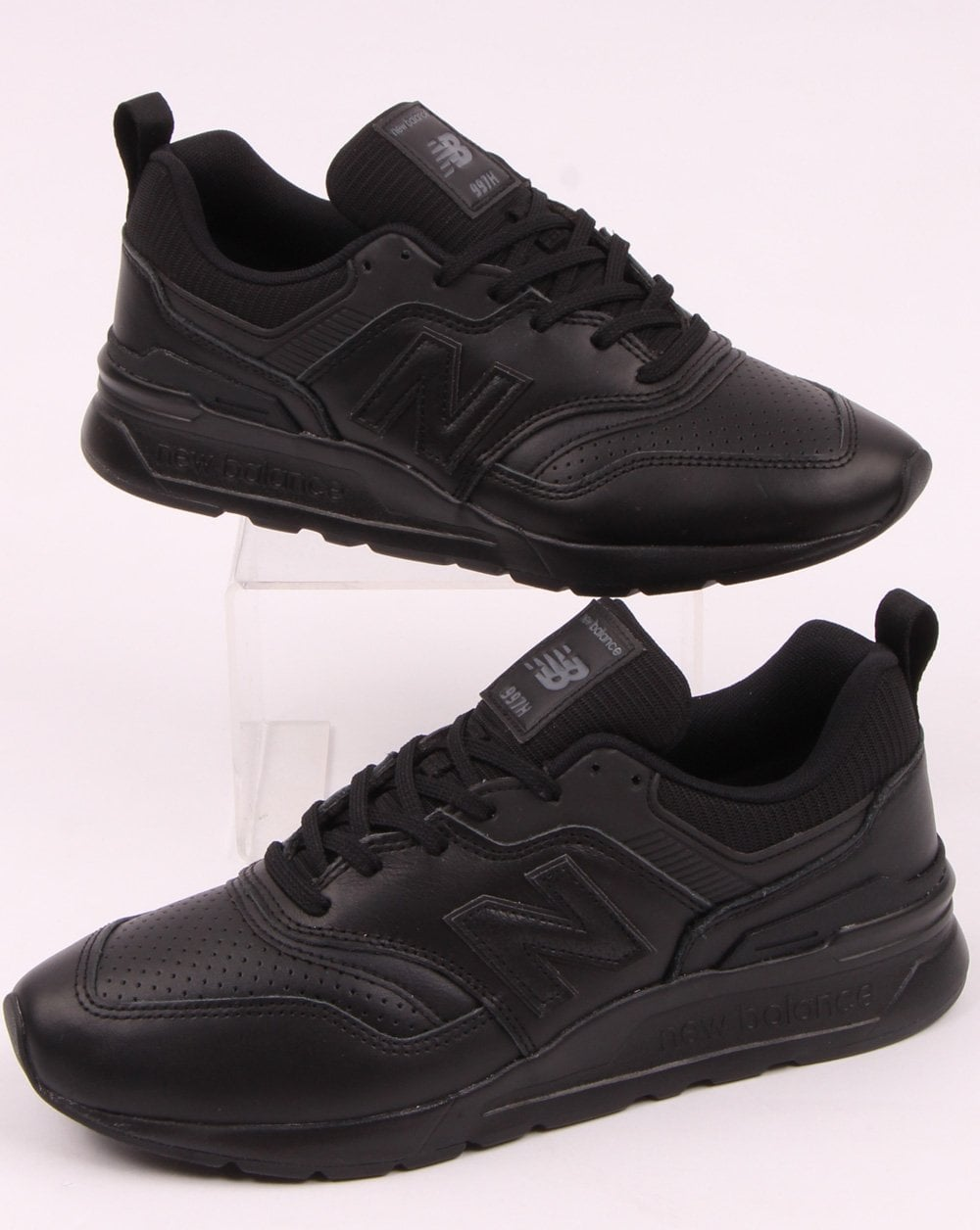 competitive price 9cac5 bb670 New Balance 997 Leather Trainers Black