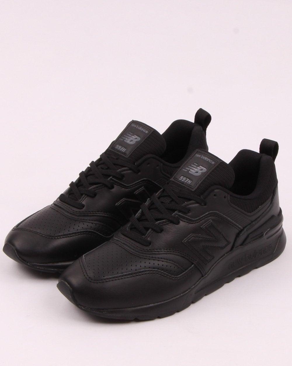 competitive price 5c8ba 782de New Balance 997 Leather Trainers Black