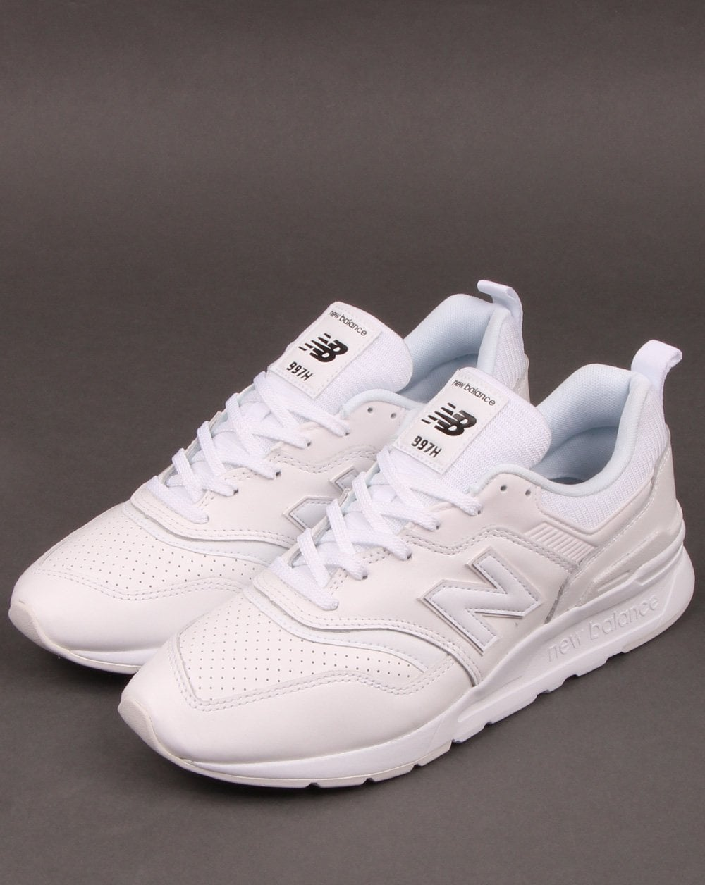 New Balance 997 Leather Trainers White