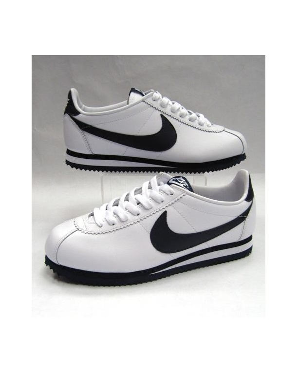 Nike Cortez Trainers Leather White/navy