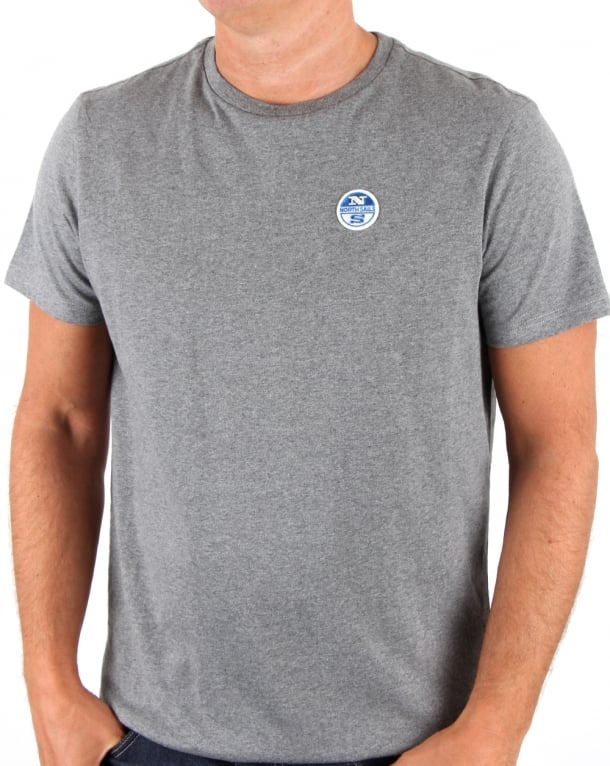 NORTH SAILS Basic Patch T Shirt Marl