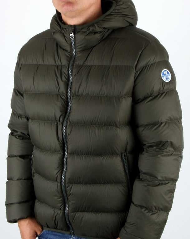 North Sails Duck Down filled Puffer Jacket Green