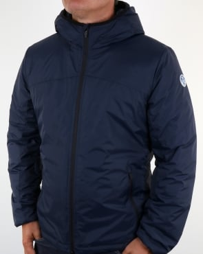North Sails Nylon Wind Runner Navy