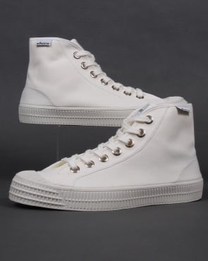 Novesta Star Dribble Canvas Hi-tops White