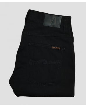Nudie Jeans Grim Tim Organic Black Ring Black
