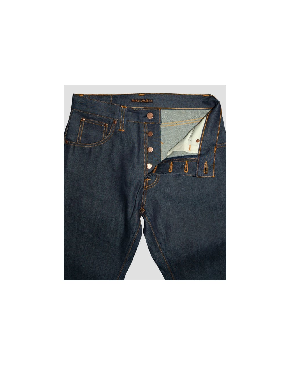 nudie jeans nudie jeans steady eddie organic tonal dry navy nudie jeans from originals footwear uk. Black Bedroom Furniture Sets. Home Design Ideas