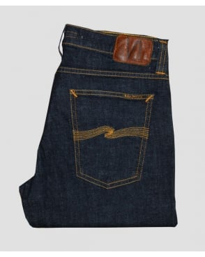 Nudie Jeans Tight Long John Organic Twill Rinsed