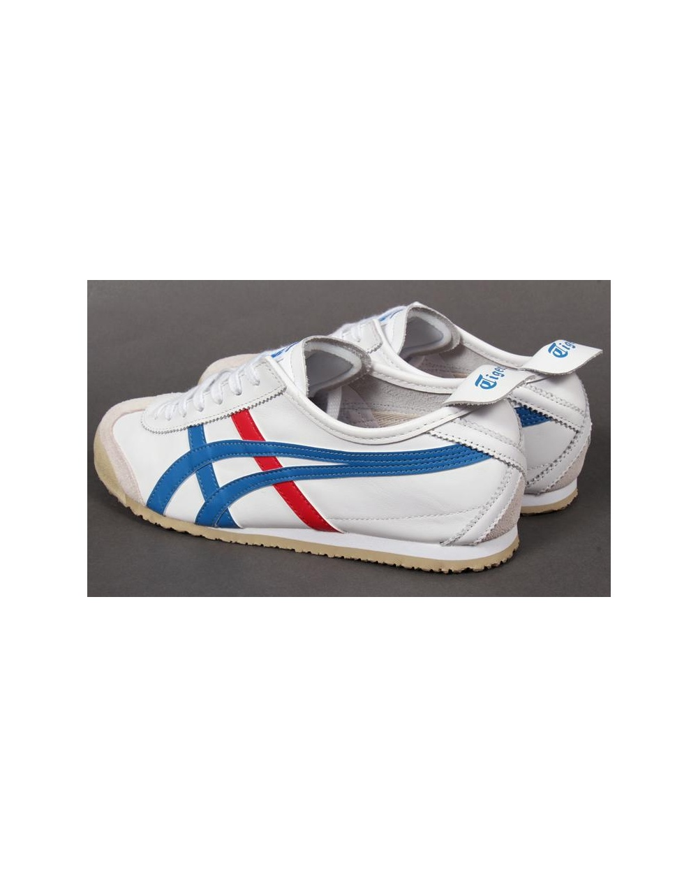 timeless design ce94d 23de9 Onitsuka Tiger Mexico 66 Trainers White/blue/red