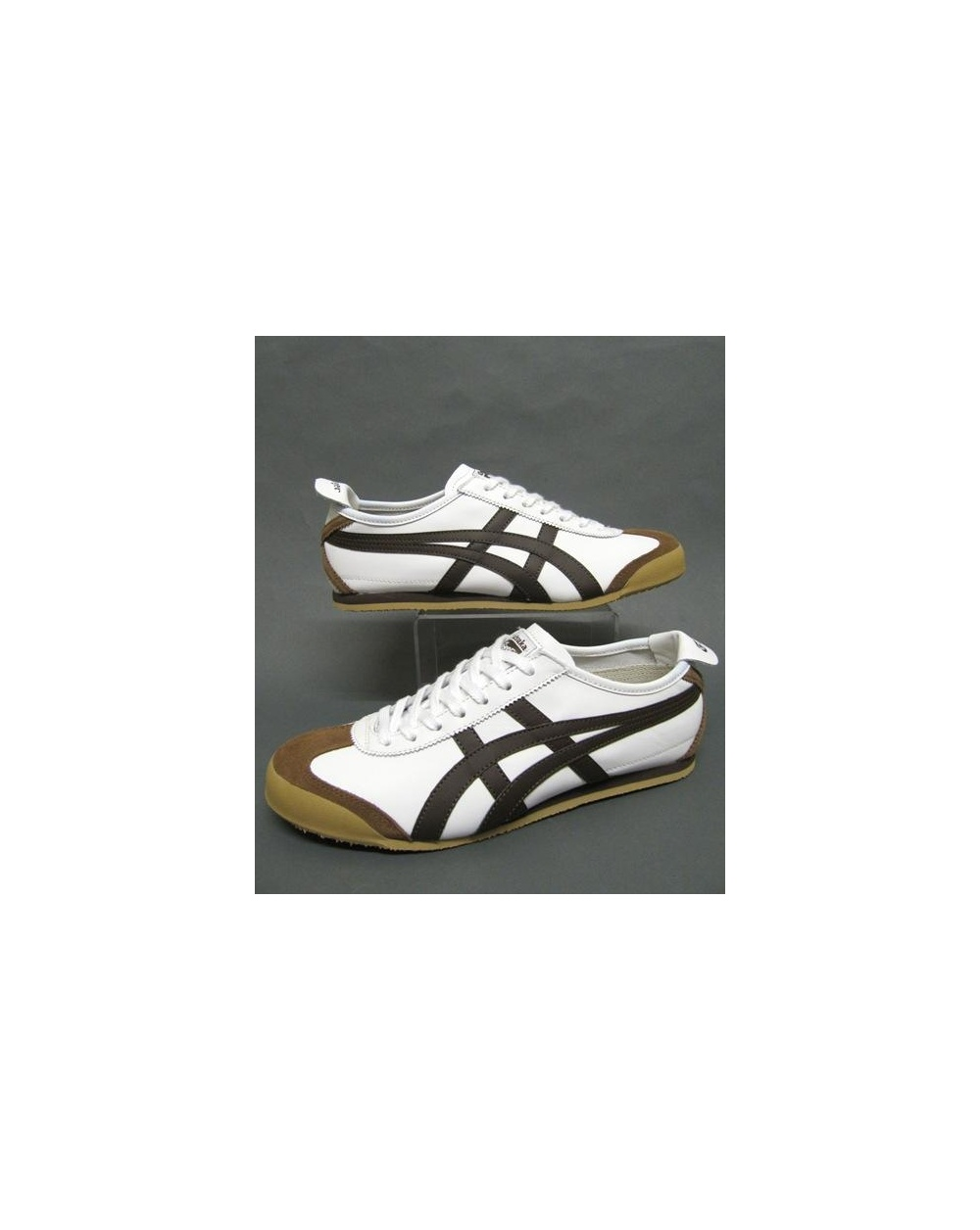 cheap for discount b529a b16ef Onitsuka Tiger Mexico 66 Trainers White/brown