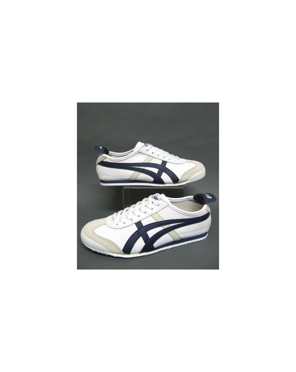 quality design 65c03 fe985 Onitsuka Tiger Mexico 66 Trainers White/navy