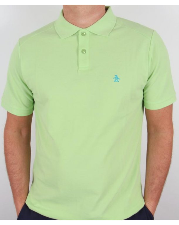 Original Penguin Daddy-o Polo Shirt Arcadian Green