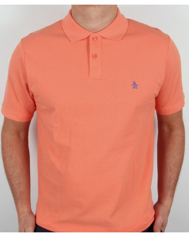 Original Penguin Daddy-o Polo Shirt Coral