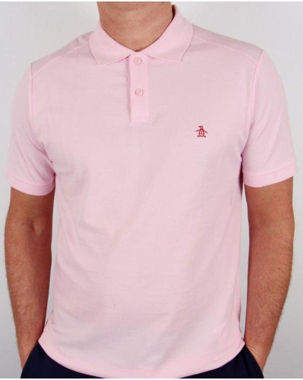 Original Penguin Daddy-o Polo Shirt Pink