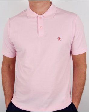 Original Penguin Daddy-o Polo Shirt Pink