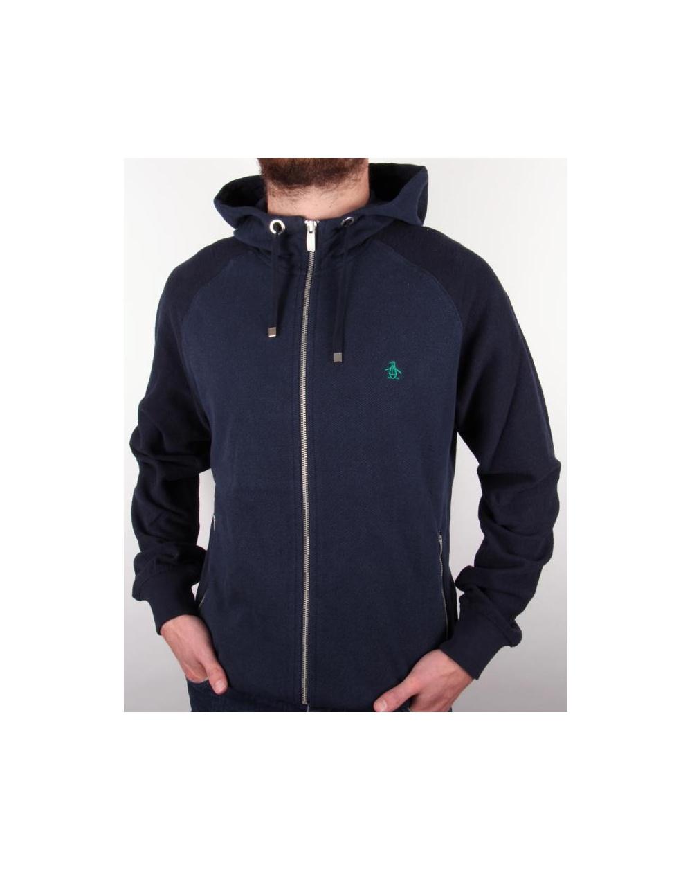 5edb93d2 Original Penguin Maple Hoody Dark Navy, hooded track top, hoodie,hoody