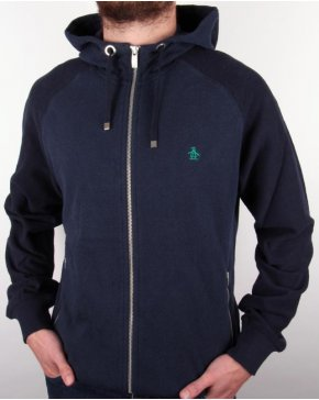 Original Penguin Maple Hoodie Dark Navy