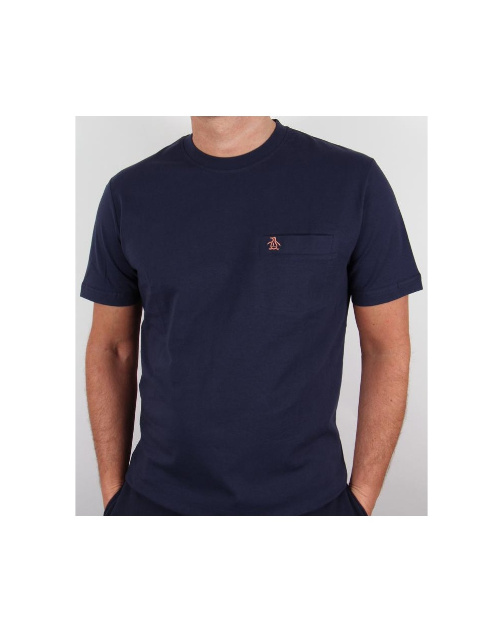 original penguin new pocket t shirt navy original. Black Bedroom Furniture Sets. Home Design Ideas