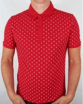 Original Penguin Re-pete Polo Shirt Red