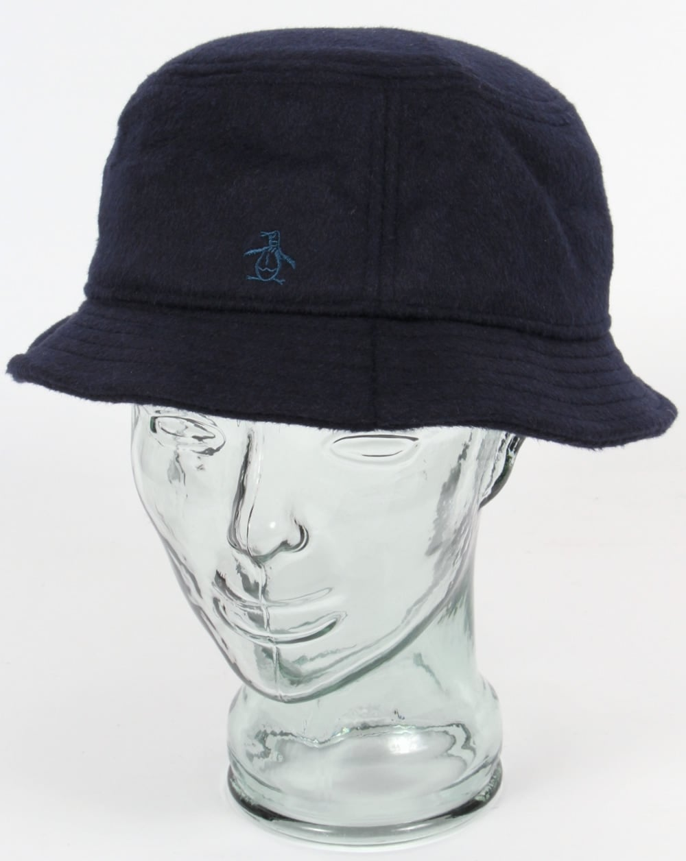 Original Penguin Original Penguin Wool Bucket Hat Dark Sapphire 7898b7a3a57