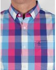 Original Penguin Woven Gingham Shirt Classic Blue
