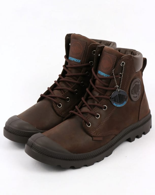 Palladium Pampa Cuff WP Lux Boot Chocolat