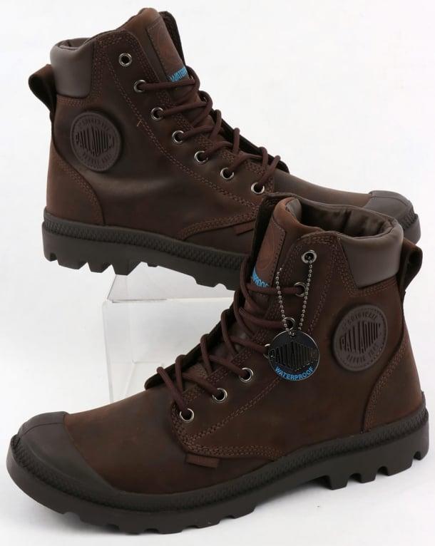 Palladium Pampa Cuff WP Lux Boot Chocolat