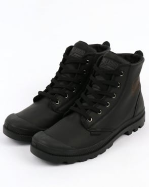 Palladium Pampa Hi Leather Boot Black