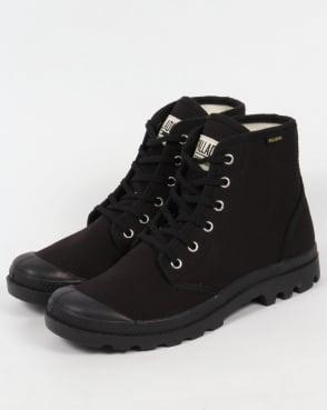 Palladium Pampa Hi Originale Boots Black