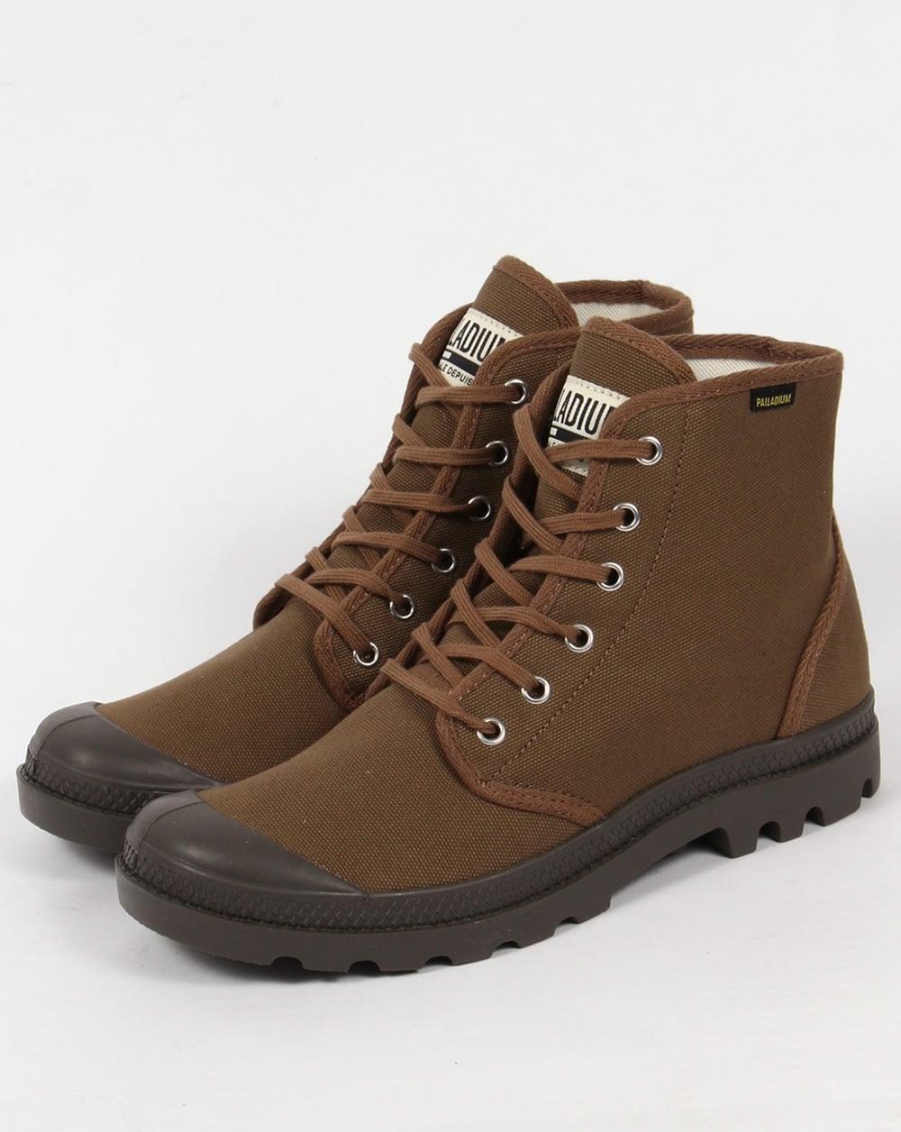 be5194ade33 Palladium Pampa Hi Originale Boots Butternut/Tarm