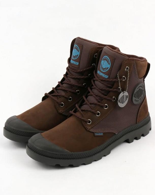 Palladium Pampa Sport Cuff WPN Boot Chocolate/Forge