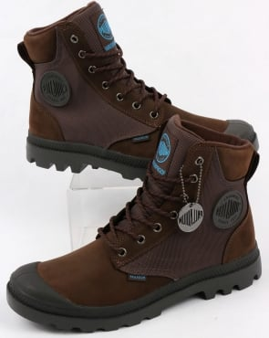 Palladium Pampa Sport Cuff WPN Boot Chocolate/Forge