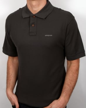 Patagonia Belwe Polo Shirt Forge Grey