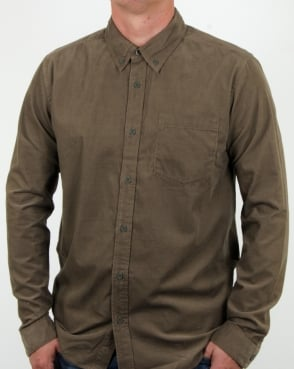 Patagonia Bluffside Cord Shirt Dark Ash