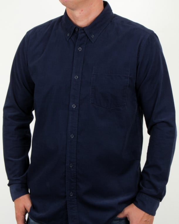 Patagonia Bluffside Cord Shirt Navy