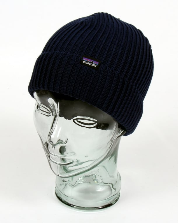 Patagonia Fishermans Rolled Beanie Navy