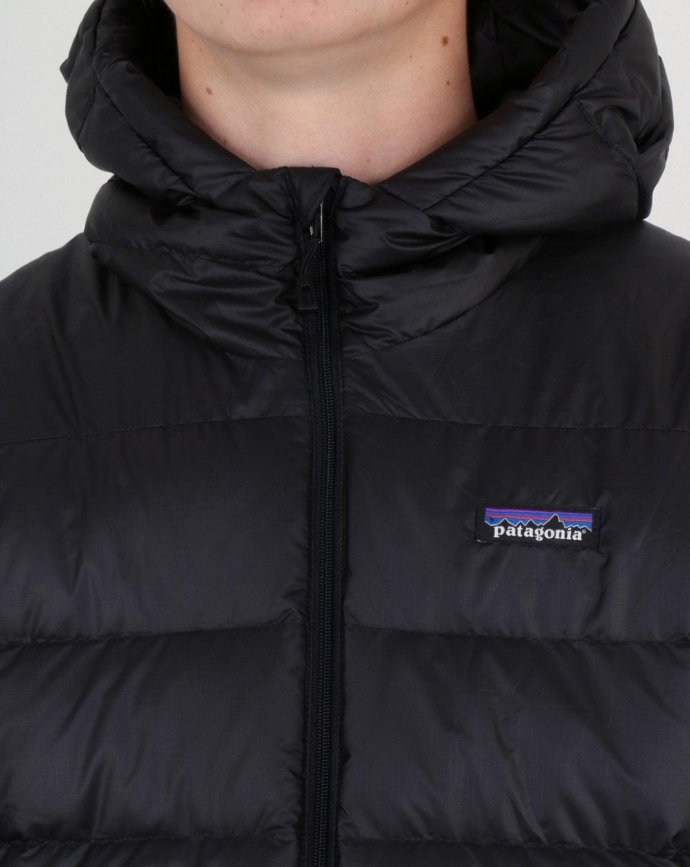 adefdb8d0 Patagonia Hi-loft Down Hooded Jacket Black