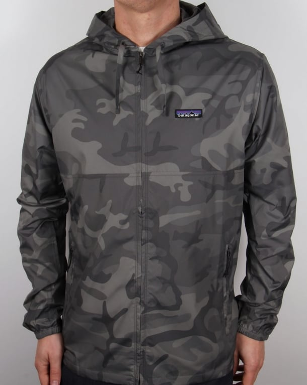 Patagonia Light And Variable Hooded Jacket Forge Grey Camo