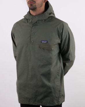 Patagonia Maple Grove Snap T Pull Industrial Green