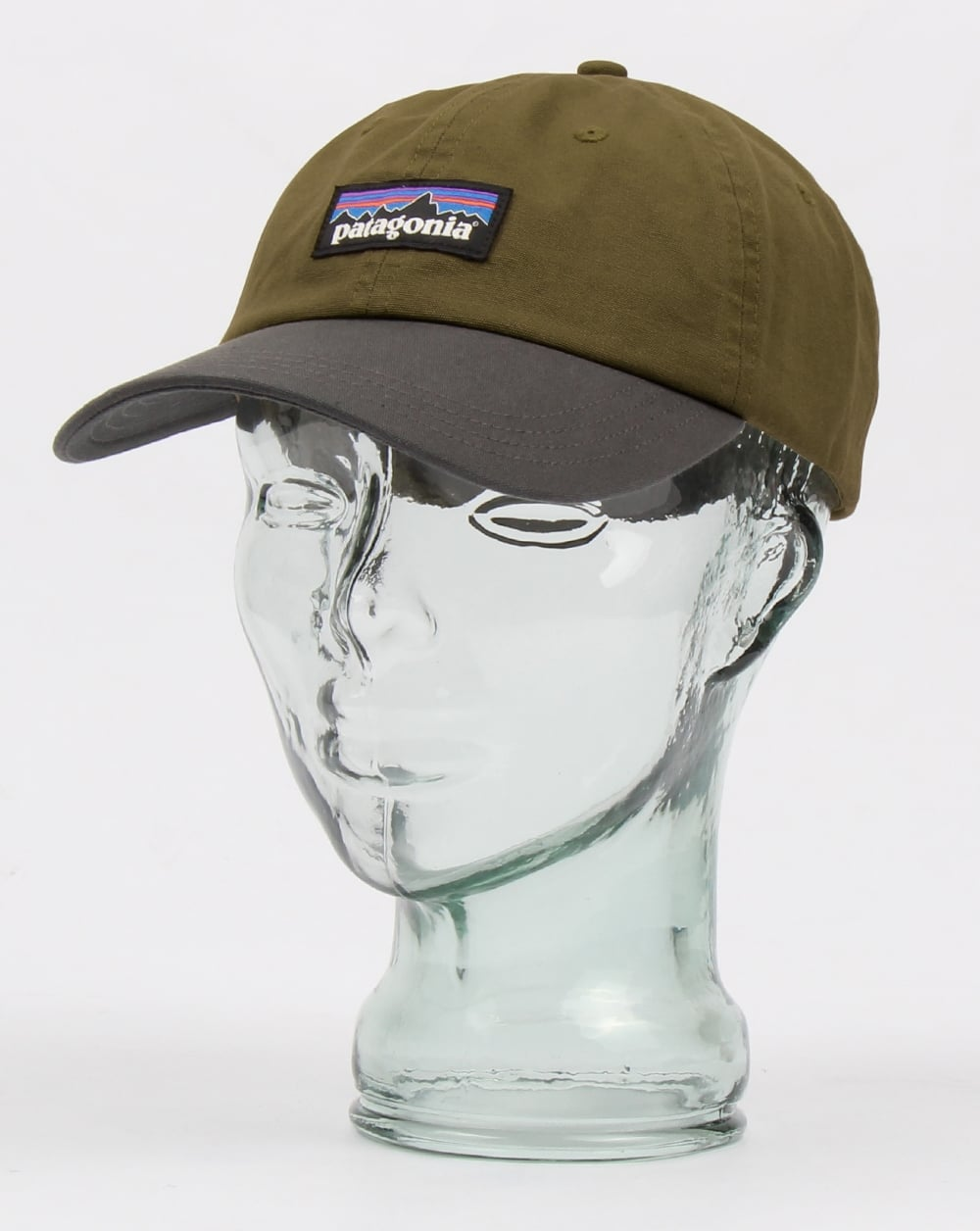 Patagonia P-6 Label Trad Cap Dark Ash - Hats And Caps from 80s ... e26ee5fc500