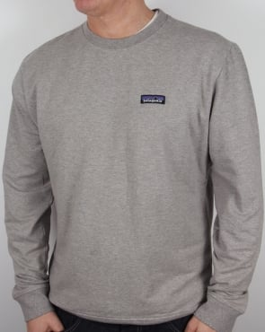 Patagonia P-6 Logo Midweight Sweatshirt Feather Grey