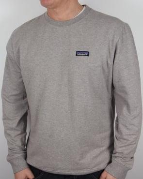 Patagonia P-6 Logo Midweight Sweatshirt Feather Grey